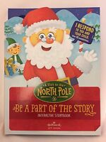 Hallmark Interactive Storybook A Visit to the North Pole gift book for kids