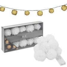 Cotton Balls Warm White Fairy Lights