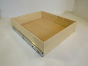 ShelfGenie Slideout Cabinet Shelf 22-7/8in L x 19-1/2in W x 5in H Birch Plywood