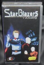 VHS ANIME/MANGA-STARBLAZERS/LA CORAZZATA YAMATO 1 SERIE/2 capitan harlock,galaxy