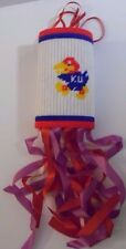 Rare Old Vintage 1970s 1980s Kansas Jayhawks Kansas University Ku Logo Wind Sock