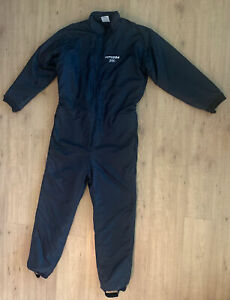 Cold Weather Insulated Nylon Work Coveralls Typhoon 200 Sz Large 3M Thinsulate