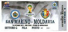 Ticket San Marino - Moldova 16.10.2012