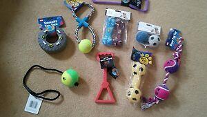 joblot dog toys bundle BNWT toys rope ball pull tyre wholesale chew bone toy
