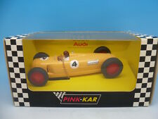 Pink Kar CV 011 Auto Union Type C 1936, Yellow, Limited Edition of 2500, unused
