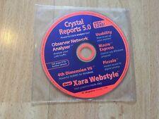 PC Magazine octubre 1998 CD ROM demostraciones shareware software Vintage Crystal Reports