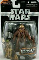 STAR WARS EPISODE 3 GREATEST BATTLES COLLECTION WOOKIE WARRIOR ACTION FIGURE NEW