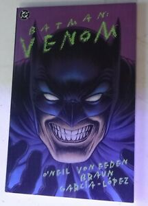 Batman Venom Graphic Novel Trade Paperback TPB Bane