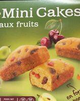 Lot revendeur destockage De 50 Minis Cakes Aux Fruits Dlc Longues
