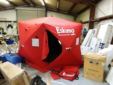 Eskimo Quickfish 5i  Pop-Up Portable Ice Fishing Shelter, 24105 Red 776