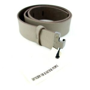 Drykorn Damen Gürtel Taillengürtel Größe 80 Modell Chaste Leder Taupe Np 59 Neu