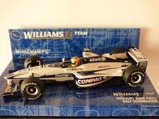 Minichamps Williams F1 Team Williams BMW FW22 Ralf Schumacher No: 430000009