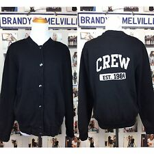 Rare! Brandy Melville Crew 1984 Graphic Button Bomber Jacket Nwt