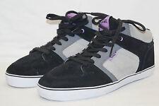 Vans Ellis mid MP (Fleece) talla 41 UK 7,5 negro gris lila skateboard, innefutter