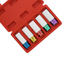 """ABN 1/2"""" Inch Impact Drive Lug Nut Socket Non-Marring Thin-Walled 5-Piece Set"""