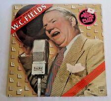 The Best of W.C. Fields Vinyl Record LP Sealed CBS 1976