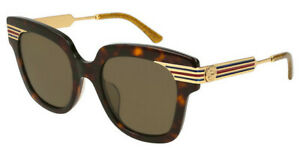 GUCCI GG0281SA 002 51-21-150 Havana Sunglasses
