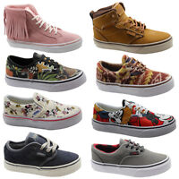 Vans Off The Wall Disney Era Authentic Sk8 Hi Bishop Milton Atwood Kids Trainers