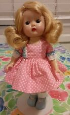 Muffie with Mismatched Body and Head-Older Head, Later Body, Muffie Dress