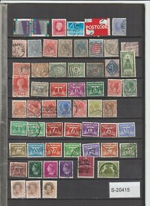 Netherlands lot from 1889 onwards  S-20415