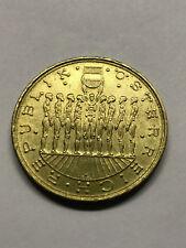 1980 AUSTRIA 20 SCHILLING AU #5791