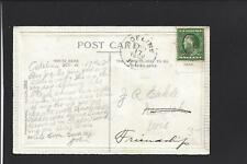 ADELINE, ILLINOIS, 1912, EMBOSSED POSTCARD, OGLE CO DPO, 1848/1931.