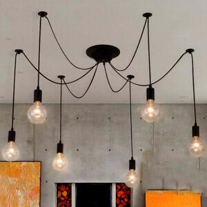 Modern Pendant Light Kitchen Black Chandelier Lighting Bedroom Ceiling Lights