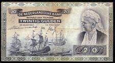 PAYS BAS ; 20 Gulden ; EMMA ; AMSTERDAM le 15.Septembre 1939 ; Pick#53 /L178b
