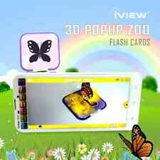 Popup Zoo Live 3D Interactive Card early educational product Best Gift Kid IVIEW
