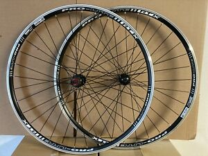 Pair Pro-Lite 700c Road Wheels And 2 Schwalbe Lugano Tyres And Inner Tubes