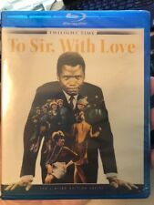 To Sir with Love  Blu-ray  Twilight Time Limited Edition  Brand New/Sealed