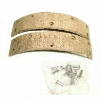 New Brake Shoe Lining Kit With Rivets Fits Royal Enfield Bullet Motorcycl