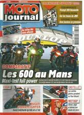 MOTO JOURNAL N°1851 DUCATI STREETFIGHTER / GSX-R 600 / 675 DAYTONA / ZX-6R