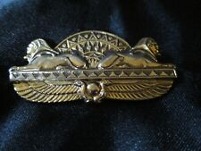"Pin 2"" Egyptian Sphinx Brass"