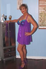Women's Sheer Babydoll By Cacique In Size 18/20