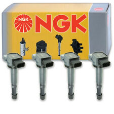 4 pcs NGK 48922 Ignition Coil for U5099 00325 UF311 673-2301 48922 E1083 yl
