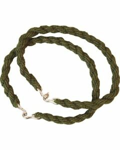 5x Pairs Army Military Trouser Twists Hiking Cadet Soldier Twisties Ties Green