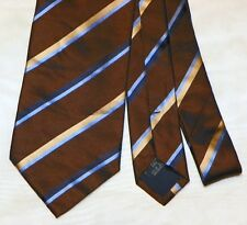 BURBERRY [ LONDON ] men's tie 100% Silk Made in Italy