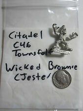 WARHAMMER CITADEL TOWNSFOLK VILLAGER WICKED BROWNIE JESTER OOP GW 1987