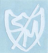 "S /& M bmx Sticker lg 5/"" shield"