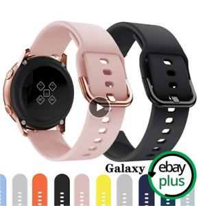Armband für Samsung Galaxy Watch Active/Active2 Silikon Sport Band 40mm/44mm