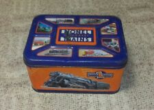 Great Collectable Legendary LIONEL TRAINS Tin Box...Storage or Bread Box