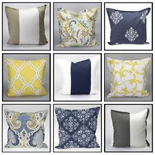 Coussins et galettes de sièges coton pour la décoration intérieure de la maison 50x50