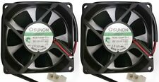 2x Industrial Sunon 12V/1.6W 80mm Brushless Electrical Cooler/Cool Fan Powerful