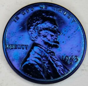 1943 D STEEL LINCOLN WHEAT CENT PENNY 1C ****GREAT DETAIL*!!
