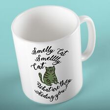FRIENDS TV SERIES Mug Cup | Smelly Cat | - Birthday Gift for Friends Fan