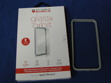 ZAGG INVISIBLE SHIELD CASE ONLY MISSING PARTS FOR APPLE IPHONE 6 SILVER COLOR