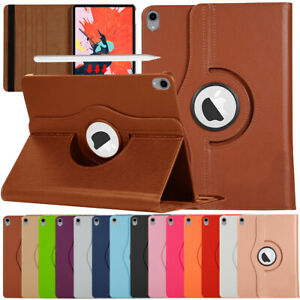 For iPad Pro 9.7 10.5 11 12.9 inch Smart Cover 360 Rotating Stand Leather Case
