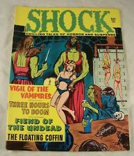 SHOCK MARCH 1971 VOLUME 3 NUMBER 1 STANLEY BONDAGE COVER  HORROR COMIC MAGAZINE