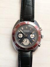 Round Vintage 41 mm Eterna Chrono Cal. 726 Valyoux Swiss Working Watch Pre Own